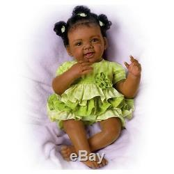 Ashton Drake Alexis So Truly Real African-American baby doll by Waltraud Hanl
