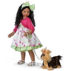Ashton Drake Angela Sutter Kayla's Sunday Stroll Doll With Her Yorkie