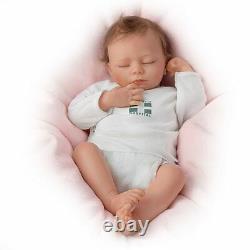 Ashton Drake Ashley Breathing Lifelike Baby Girl Doll By Andrea Arcello