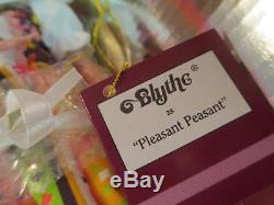 Ashton Drake BLYTHE Doll Collection Pleasant Peasant Original Box & Papers