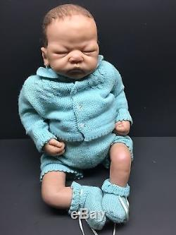 Ashton Drake Baby Alex So Truly Real Newborn Doll Linda Webb Artist
