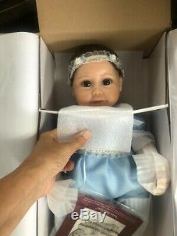 Ashton Drake Baby Blue Eyes Weighted So Truly Real Baby Doll by Sherry Miller