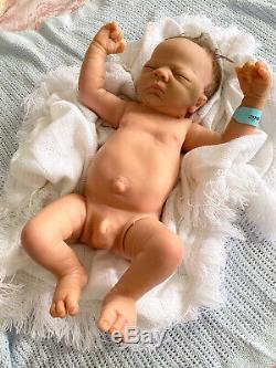 Ashton Drake Baby Charlie 22inch Atomically Correct Full Bodied Reborn Doll