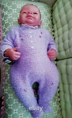 Ashton Drake Baby Emily Smiled Doll Angels Danced Truly Real Baby 22 Linda Webb