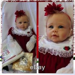 Ashton Drake Babys first Christmas doll by Linda Murray