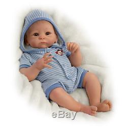 Ashton Drake Benjamin So Truly Real Lifelike Baby Boy Doll NEW NIB