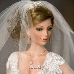 Ashton Drake Blushing Bride Porcelain Bride Doll by Cindy McClure
