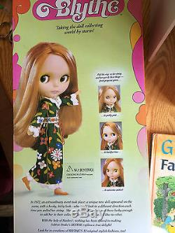 Ashton Drake Blythe Doll With Box and Extra Clothes