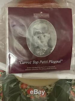 Ashton Drake Carrot Top Patti Playpal 35 L@@K