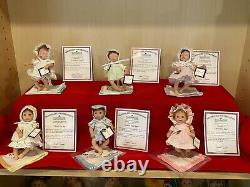 Ashton Drake Ccllection over 140 dolls many rare, Limited and popular. COA