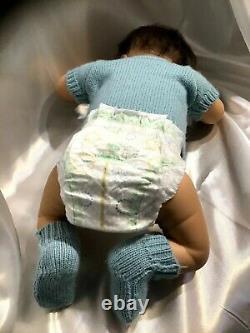 Ashton Drake Charlie Anatomically Correct Sleeping So Truly Real Lifelike Doll