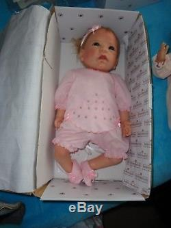 Ashton Drake Claire Silicone Lifelike Baby Doll 18 by Linda Murray