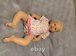 Ashton Drake Cloth Body Silicone Baby Girl