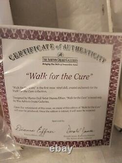 Ashton Drake Dianna Effner Doll Walk For The CURE