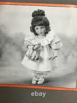 Ashton Drake Dianna Effner Peaches And Cream Porcelain Dol, COA, Tag, New in Box