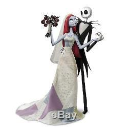 Ashton Drake Disney Tim Burton Jack And Sally Nightmare Romance Doll Set NEW NIB