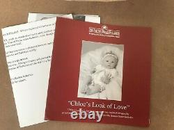 Ashton Drake Doll Chloe's Look Of Love Boxed In Very Good Condition