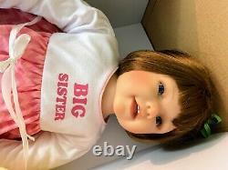 Ashton Drake Dolls So Truly Real Big Sister Little Sister
