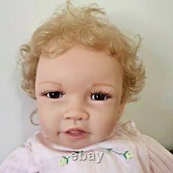 Ashton-Drake Doris Stannat Baby Sarah Doll RealTouch Vinyl With Certificate