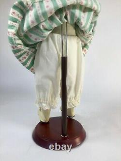 Ashton Drake EMILY Porcelain Doll Sculpted by Dianna Effner with Stand 15 in
