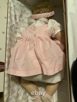 Ashton Drake Elizabeth Precious In Pink 21 Vinyl Baby Girl Doll Rotraut Schrott