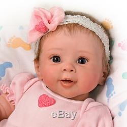 Ashton Drake Ella Breathing Baby So Truly Real Baby Doll