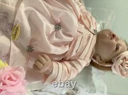 Ashton Drake Elly Knoops Disney Pretty As A Princess Lifelike Baby With Bassinet