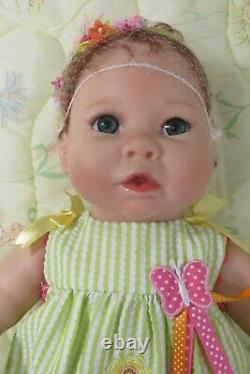 Ashton-Drake Galleries Butterfly Kisses Weighted Realistic Activated Baby Doll