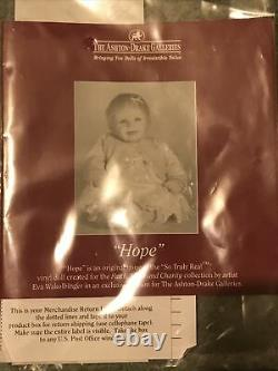 Ashton Drake Galleries Hope Baby Doll So Truly Real-NIB/COA(86)