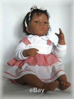Ashton Drake Galleries Jasmin's First Birthday Mint The Doll Works