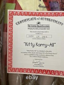 Ashton Drake Galleries Kitty Karry All 18 Cindy Brady Bunch NIB NEW Box Rare