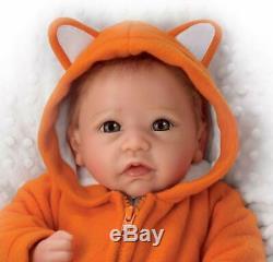 Ashton-Drake Galleries Linda Murray Li'l Rascal So Truly Real Lifelike Baby Doll