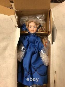 Ashton Drake Galleries Little Women At Christmas Set Of 5 Minature Dolls New