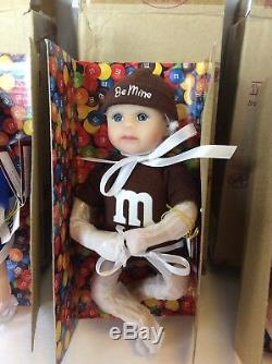 Ashton Drake Galleries M&M Candy 6in Dolls Heavenly Handfuls Collection Lot Of 6