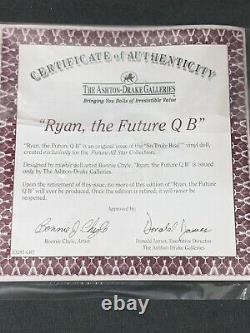Ashton Drake Galleries Ryan, the Future QB Boy Baby Doll Quarterback Chyle