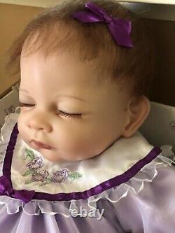 Ashton-Drake Galleries, Sleepy Iris Blossom So Truly Real Vinyl Baby Doll