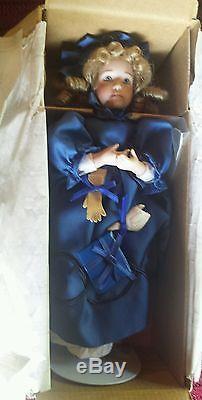 Ashton Drake Galleries Wendy Lawton Little Women At Christmas Full Set 5 Dolls