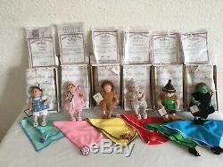 Ashton Drake Galleries Wizard of Oz set of 6 Vinyl 5.5 Dolls
