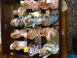 Ashton Drake Handful of Heaven Dolls with SHOWCASE