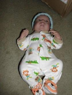 Ashton Drake Hush Hush Baby Doll Anatomically Correct Boy Vinyl Reborn Htf