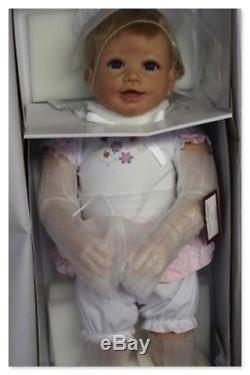 Ashton Drake Isabella's First Steps Baby Doll, brought to life by Linda Murray