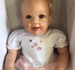 Ashton Drake Isabella's First Steps Interactive Walking Baby Doll