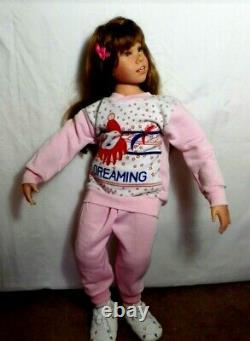 Ashton Drake Julia Fischer sister doll. 32 inches