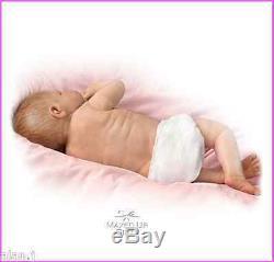 Ashton Drake LITTLE BABY GRACE, Full Body poseable baby lifelike doll