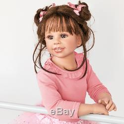 Ashton Drake Lara Jointed Ballerina Child Doll 31 inches high by Monika Levenig