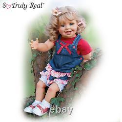 Ashton Drake Lea And The Summer Child Doll Lifelike Child Doll by Monika Gerdes
