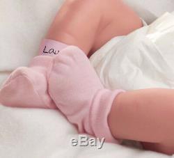 Ashton Drake Lifelike baby Girl Doll Little Lauren Anatomically correct New