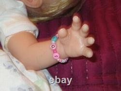 Ashton Drake Lily Rose Partial Silicone Doll