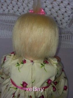 Ashton Drake Lily Rose SILICONE Baby Doll by Michelle Fagan Great Condition