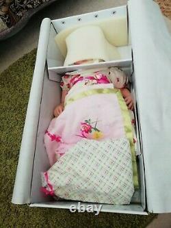 Ashton Drake Lily Rose So Truly Soft Silique Baby Girl Doll 21 RRP£229 M Fagan